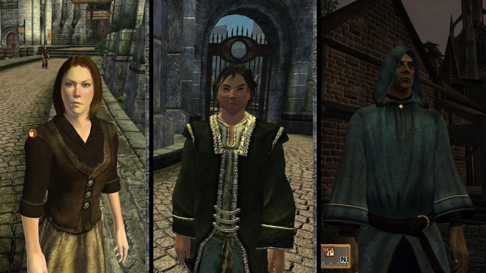Oblivion Retextured - clothes and introduction news - Mod DB